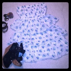 Rue 21 ruffle mini dress